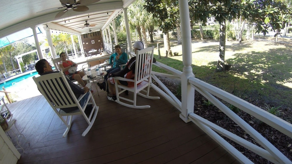 Terrace/Patio, Grandview Bed and Breakfast Mount Dora