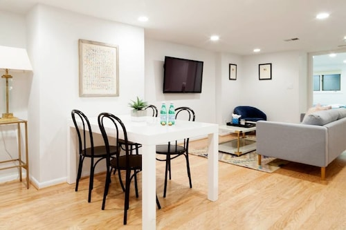 Check Expedia for Availability of Stylish 2BR English Basement near Dupont