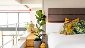 Premium bedding, free minibar items, iron/ironing board, free WiFi