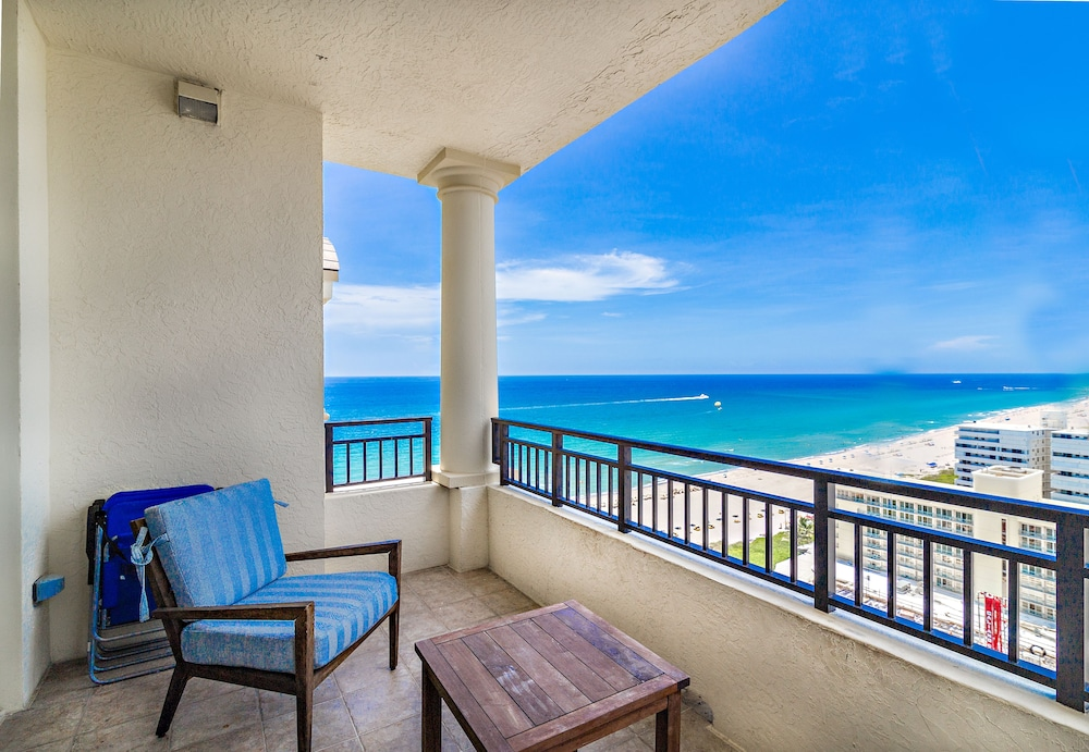Balcony, Palm Beach Singer Island Beach Resort Condos