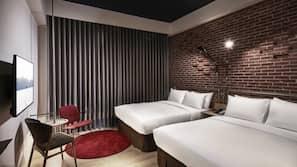 高級寢具、設計自成一格、窗簾、床單