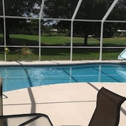 Spacious Pool Home on the Golf Course, Minutes From Everything!