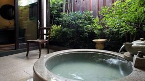 야외 스파 욕조