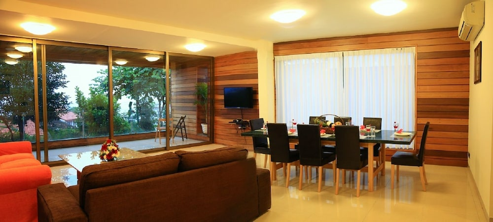 Living Area, The Acacia Villa - Reis Magos Classic