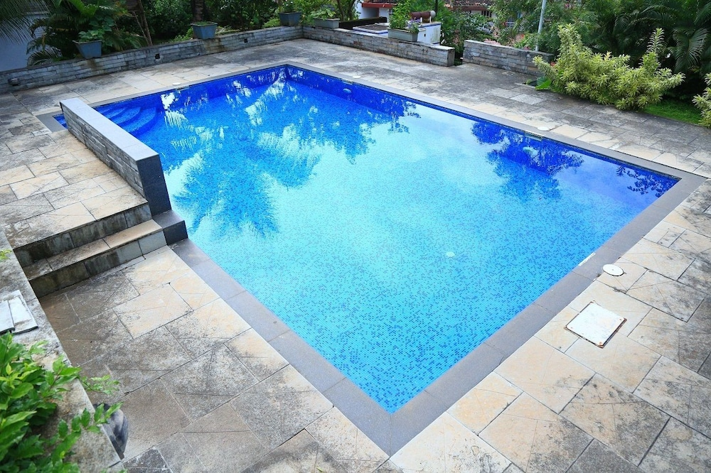 Outdoor Pool, The Acacia Villa - Reis Magos Classic