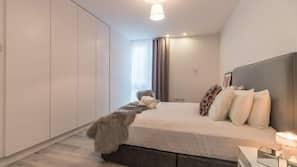 4 bedrooms, premium bedding, bed sheets