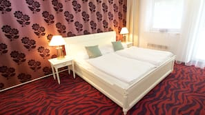 Minibar, free cots/infant beds, free WiFi, linens