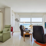 Beach Apartment Miradouro With Breathtaking Panorama SEA View Directly AT MEE
