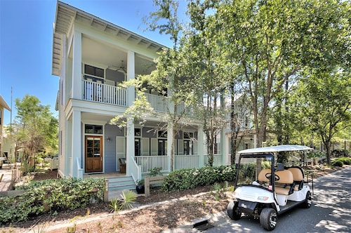 'sea Star' A Pet Friendly 5 Bedroom Home + 6 Seater Golf Cart + 4 Adult Bikes!