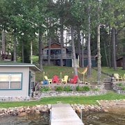 Updated Pequot Lakes Cabin on Sibley Lake