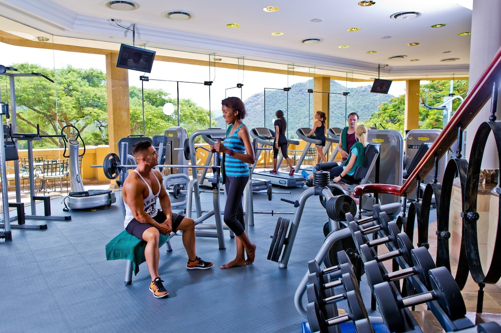 Gym, Bush Bungalows at Sun City Resort