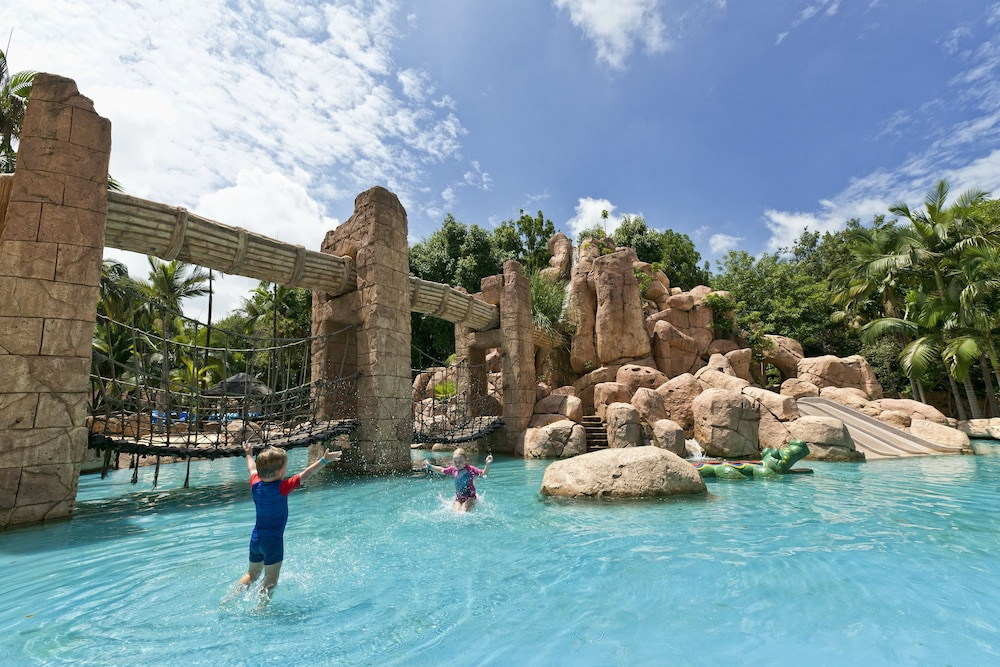 Water Park, Bush Bungalows at Sun City Resort