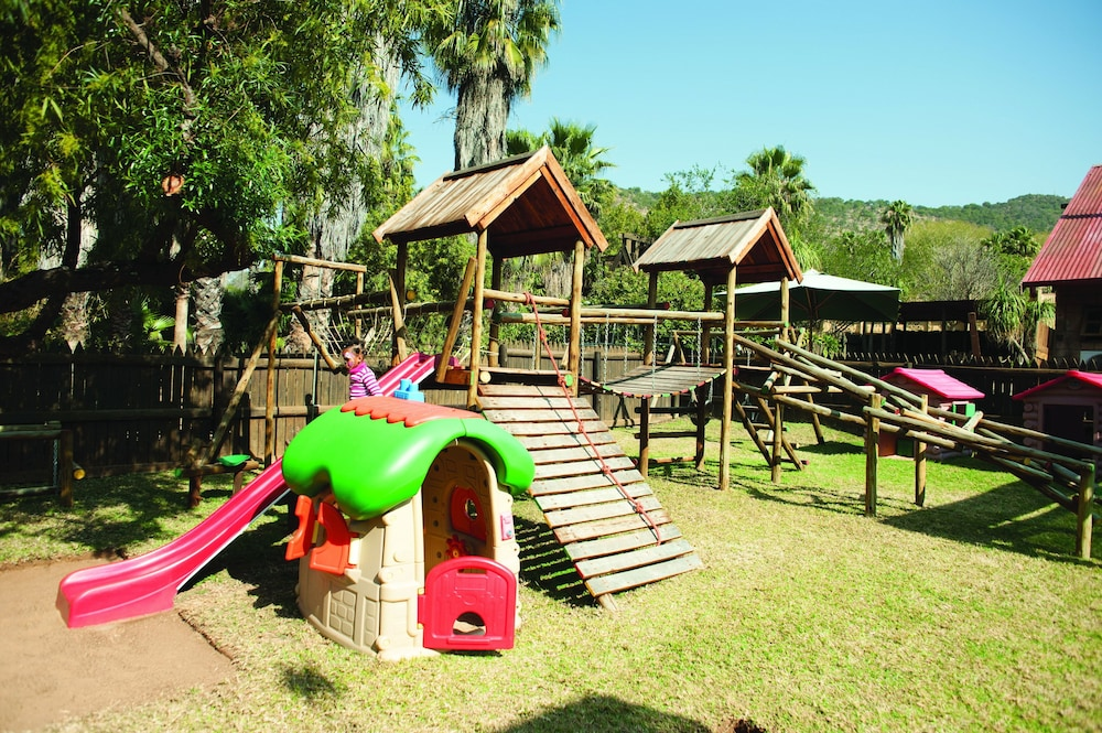 Children's Play Area - Outdoor, Bush Bungalows at Sun City Resort