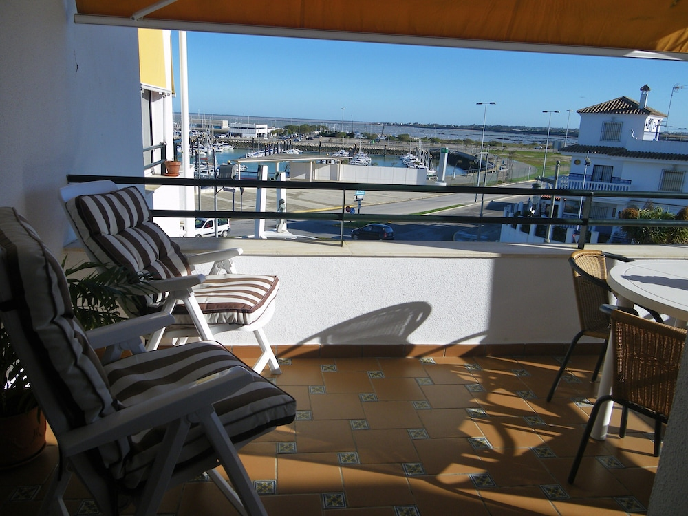 Balcony, Apartment- Chipiona, Garage, Pool Near THE Town Center AND Beach, Internet, Satellite TV