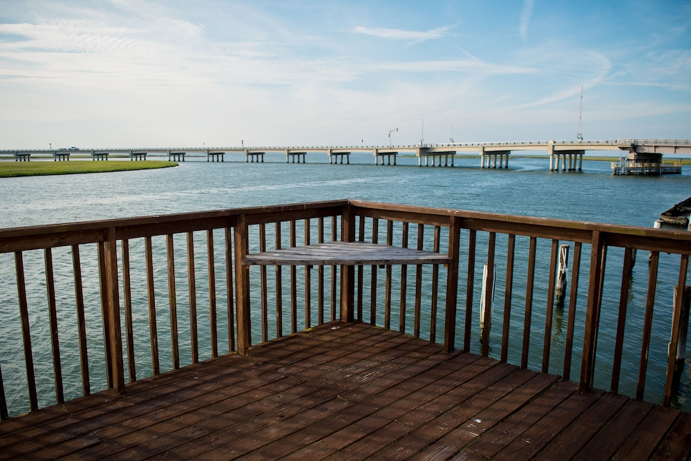 View from Property, Key West Cottages on the Chincoteague Bay
