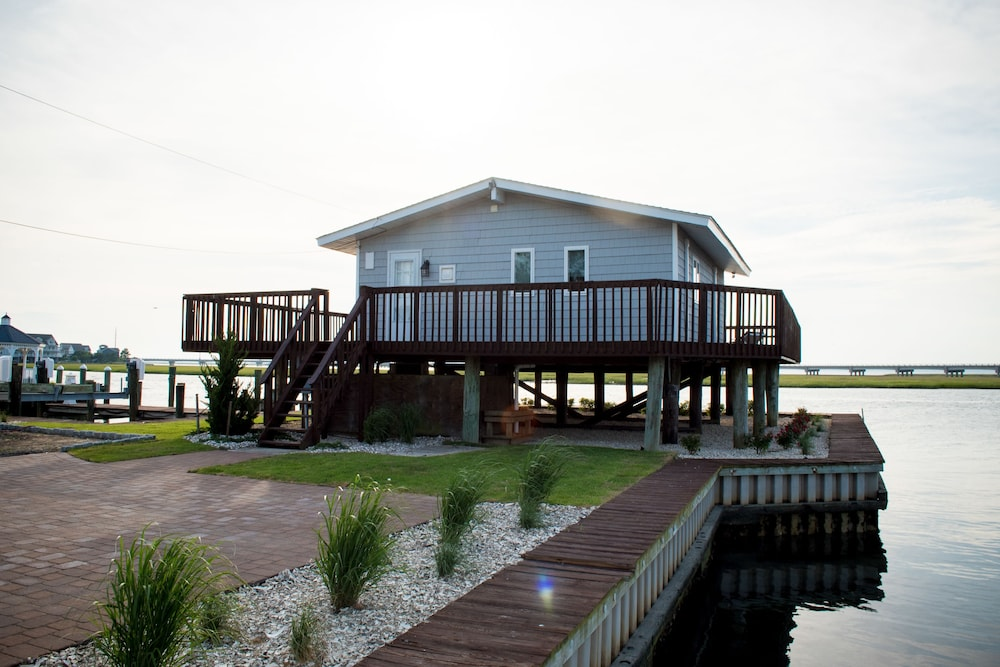 Front of Property, Key West Cottages on the Chincoteague Bay
