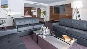 Värdeförvaringsskåp på rummet, ljudisolering och gratis wi-fi
