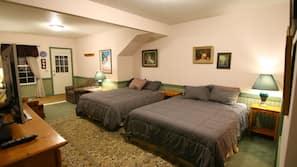 Premium bedding, memory-foam beds, desk, free WiFi
