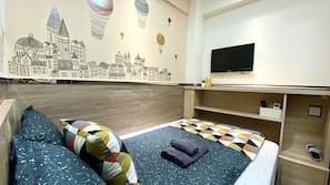 設計自成一格、家具佈置各有特色、熨斗/熨衫板、免費 Wi-Fi