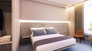 Premium bedding, pillow-top beds, soundproofing, iron/ironing board