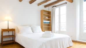 2 chambres, décoration personnalisée, ameublement personnalisé, bureau