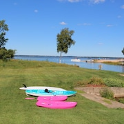 Lake Living Directly On Castle Rock Lake - 20 Min From WI Dells