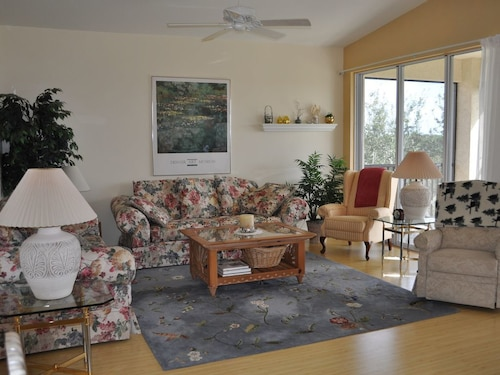 Great Place to stay Pelican Sound Property-beautiful Top Floor End Unit-views of 9th Hole & Wetland near Estero