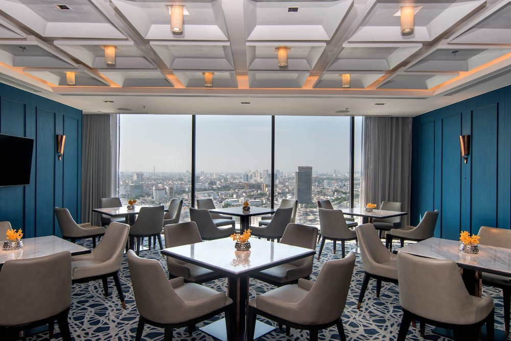 Executive Lounge, Bangkok Marriott Hotel The Surawongse