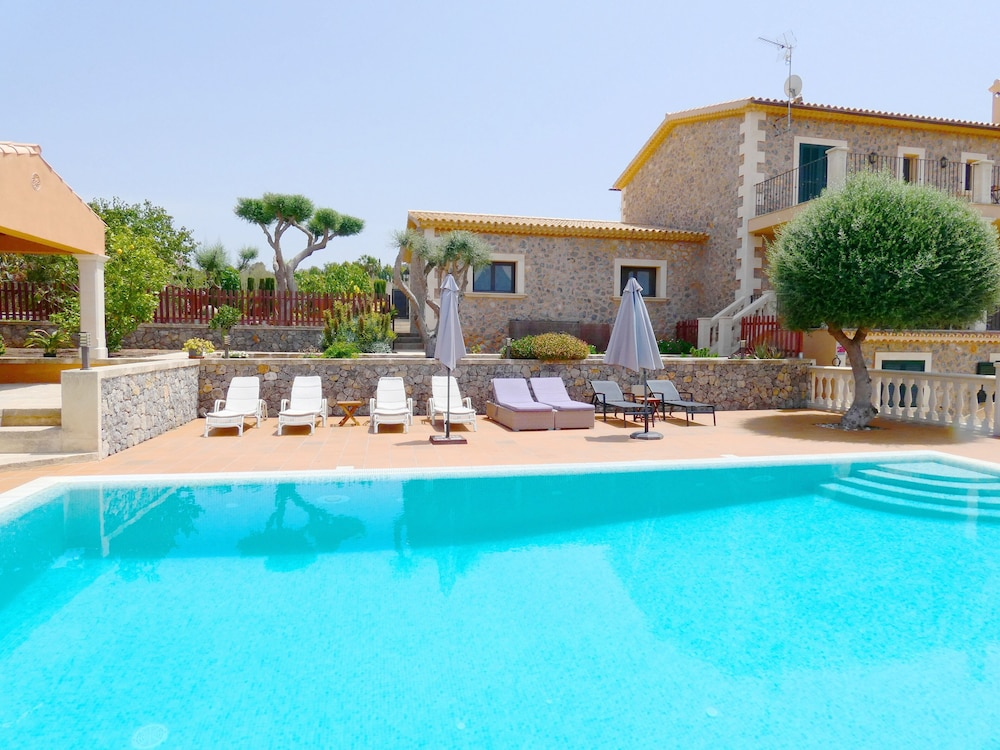 Beautiful Villa With Private Pool Barbecue Views Of The Sea And