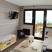 Station Avoriaz Nice Apartment 4/6 People Including Household
