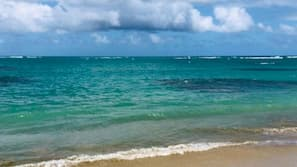 On the beach, white sand, beach massages, fishing