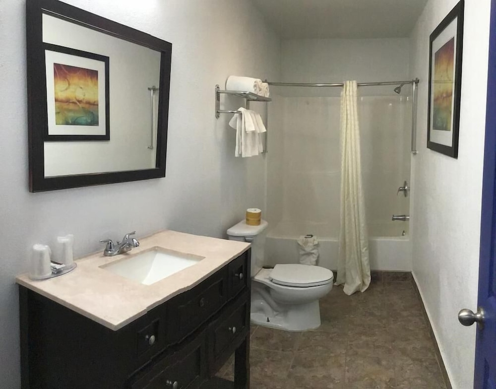 Bathroom Shower, Budget Inn and Suites