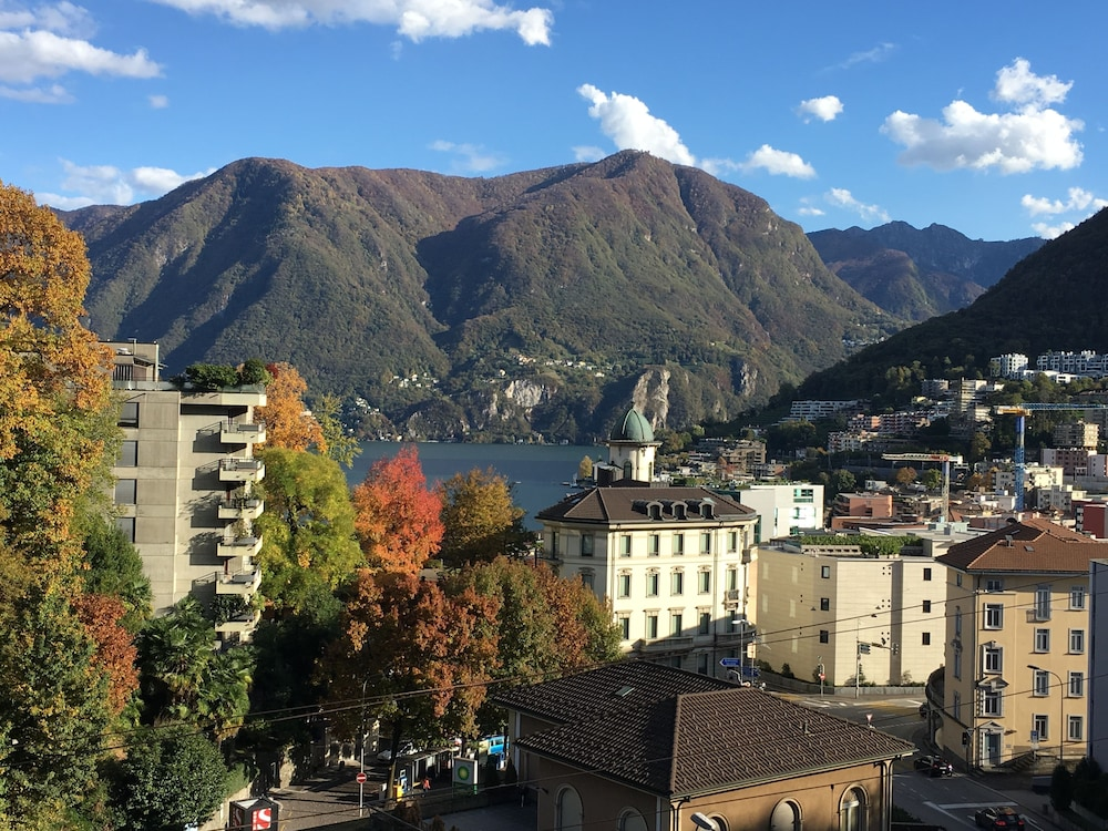 Aerial View, Lugano Center GuestHouse