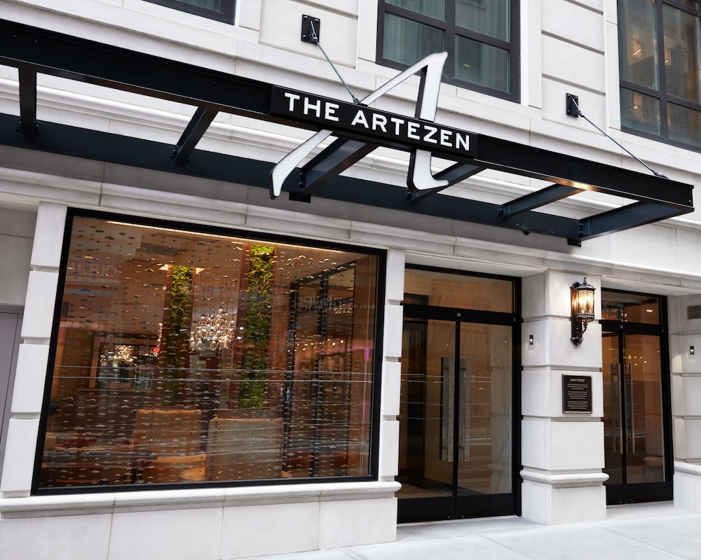Front of Property, Artezen Hotel