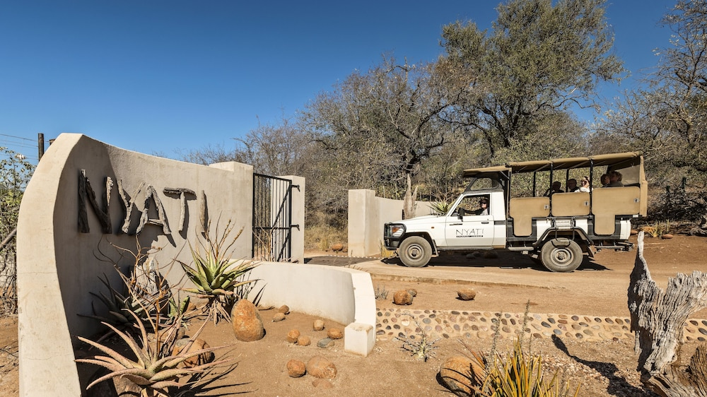 Property Entrance, Nyati Safari Lodge - All Inclusive