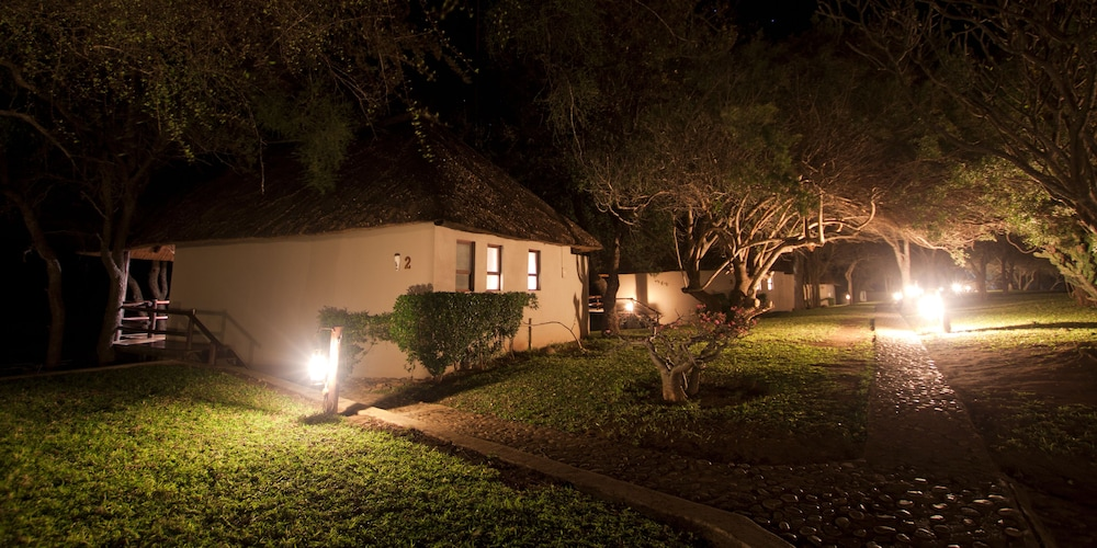 Front of Property - Evening/Night, Nyati Safari Lodge - All Inclusive