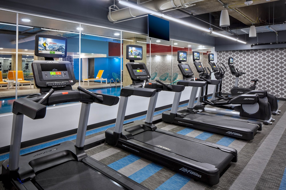 Fitness Facility, Aloft Fort Worth Downtown