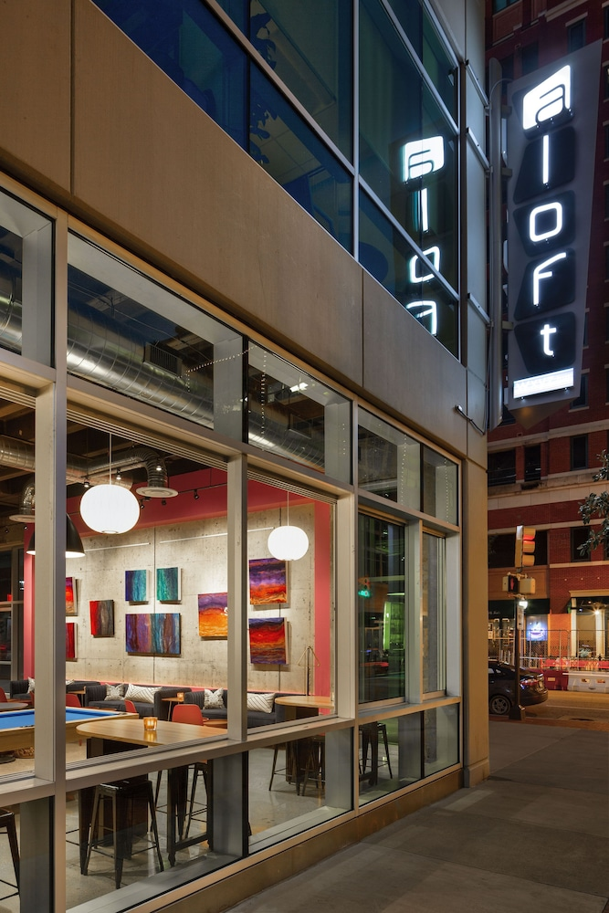 Exterior, Aloft Fort Worth Downtown