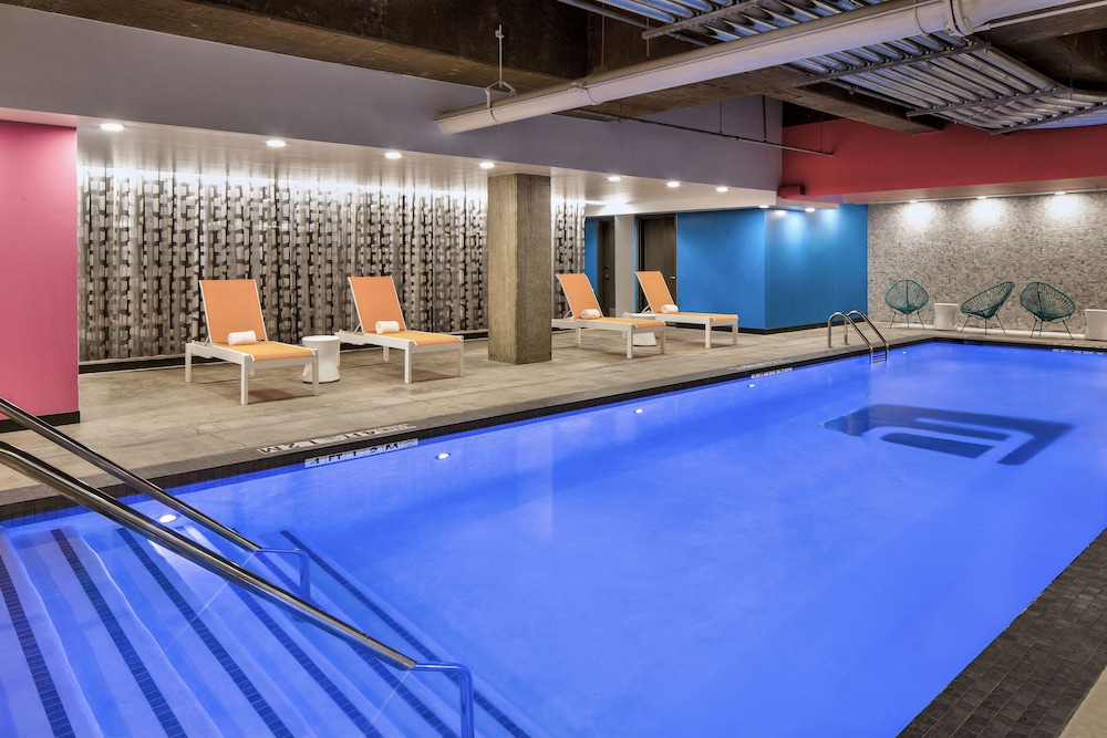 Indoor Pool, Aloft Fort Worth Downtown