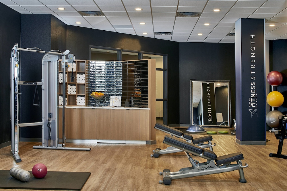 Fitness Facility, Courtyard by Marriott Minneapolis West