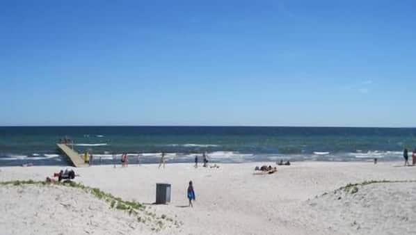 Tæt på stranden, strandtransport