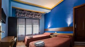 10 dormitorios, wifi gratis, ropa de cama
