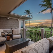 Available for Christmas - 3 bd Palm Villa at Hualalai