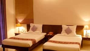 1 bedroom, premium bedding, pillow-top beds, minibar