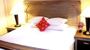 Literie de qualité supérieure, coffre-forts dans les chambres