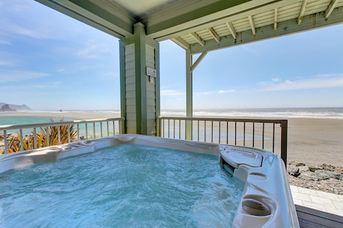 Check Expedia for Availability of Dog-friendly Oceanfront Home With Private hot tub & Unbeatable Views