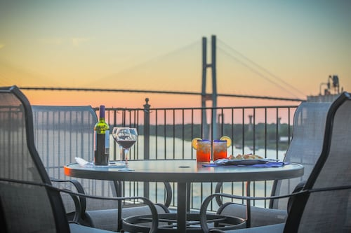 Great Place to stay Stay Local in Savannah: Amazing Loft w/ Parking and Deck Above River Street near Savannah
