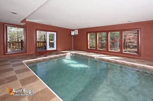 Check Expedia for Availability of Splash N' Play 5BR Private Pool Cabin in Cosby, Theater Room, Firepit, & Hottub