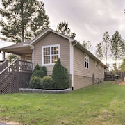 New! 2BR 'No Wake Zone' Pickwick Home in Counce!
