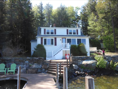 Great Place to stay Gilford Waterfront Vacation Rental for 8 near Gilford